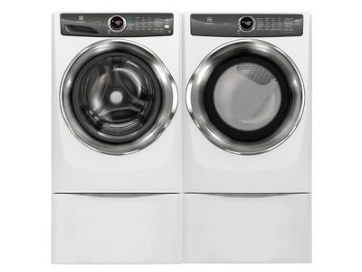 Electrolux Front Load Washer and Front Load Gas Dryer - EFLS527UIW-EFMG527UIW
